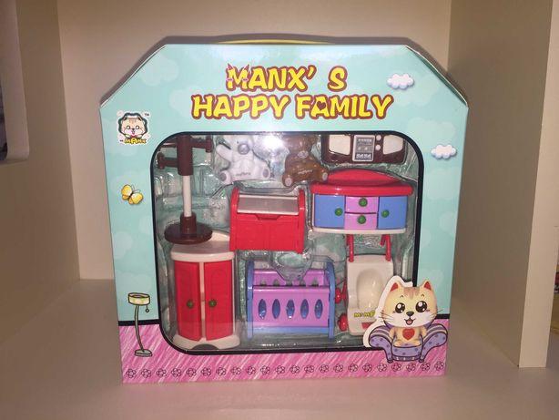 Игровой набор Mr.Manx Happy Family Детская комната