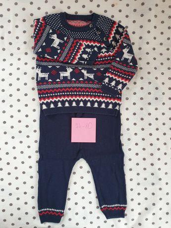 Zestaw- świąteczny sweter i spodnie