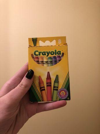 Восковые мелки Crayola / Восковые карандаши Crayola / 8 штук