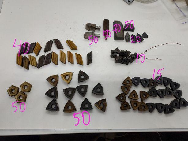 Резец по металлу для токарных работ твердосплав шифер триугольник