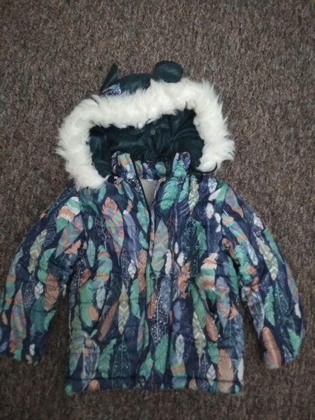 Зимняя куртка для мальчика 2-3лет