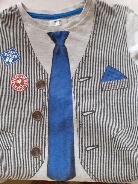 Ubranka dla chlopca od 98 do 110