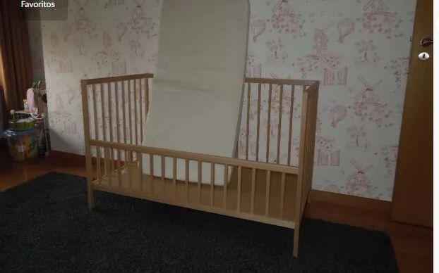 Colchão de cama de bebé