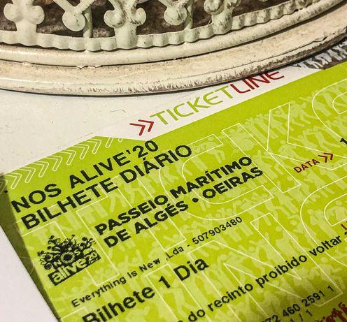 Bilhete diário para o NOS ALIVE 2022 (dia à escolha)