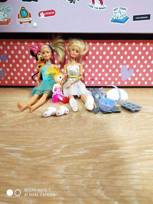 Продам игрушки куклы Барби монстер хай пони свинка Пеппа фигурки Одесса - изображение 1