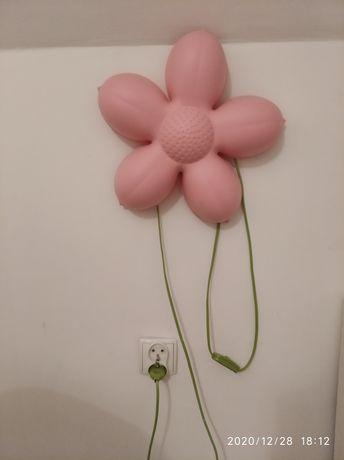 Lampka IKEA kwiatek