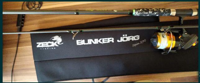 Spinning sumowy wędka ZECK Fishing Blinker Jorg Spin 2,7m c.w. 30-180g