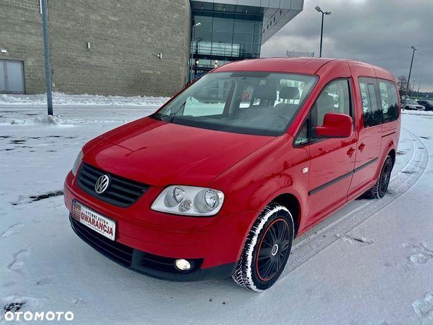 Volkswagen Caddy 1.9tdi automat Wersja MAXI jedyny taki 7 osobowy full serwis 1r gwara