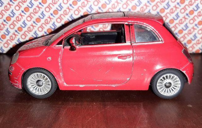 Машинка металлическая инерционная FIAT 500. Kinsmart KT 5345