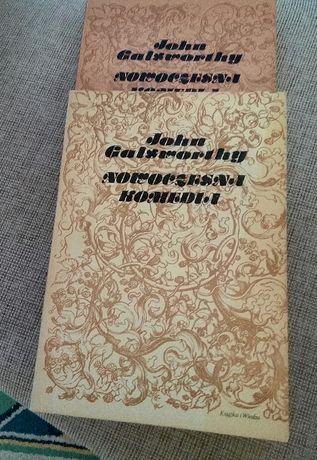 """książka """"Nowoczesna Komedia"""" John Galsworthy- 2 tomy"""