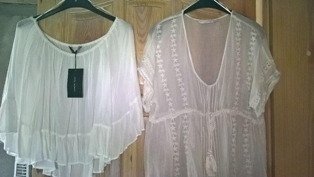 Bluzki w stylu BOHO Zara