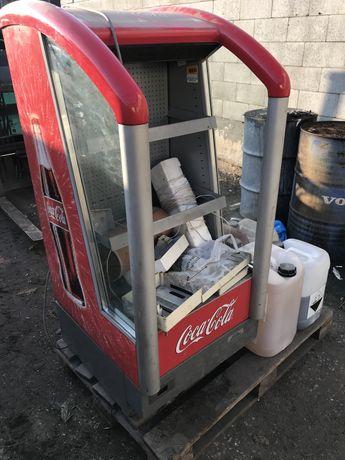 Lodowka chlodziarka coca cola