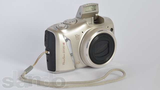 Фотоаппарат CANON PowerShot SX 130 IS Silver