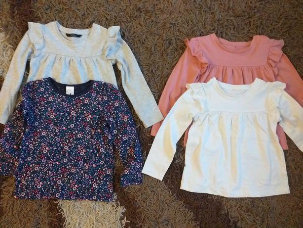 Bluzeczki bawełna 100 % 4-5 lat george