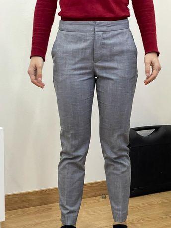 Calças da Zara pinças / fato cinzentas