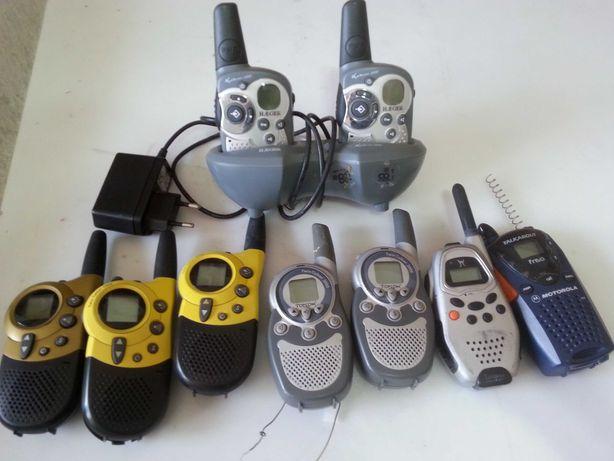 Rádios walkies-talkies UHF TX-RX,