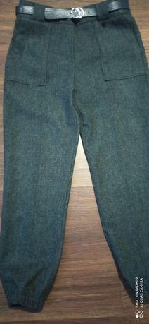 Тёплые шерстяные брюки