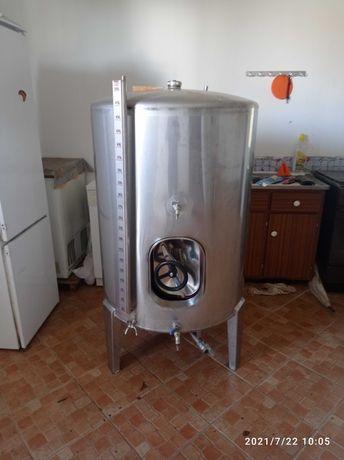 Cuba inox de Vinho de 550L