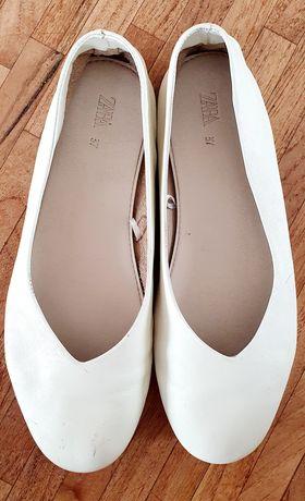 Zara baletki rozmiar 36 - skóra natura - sprzedam