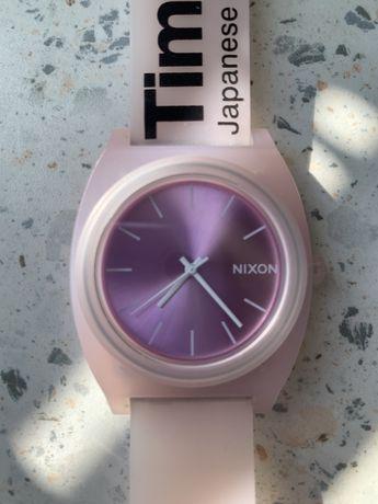 Zegarek Nixon różowy sylikon oryginał
