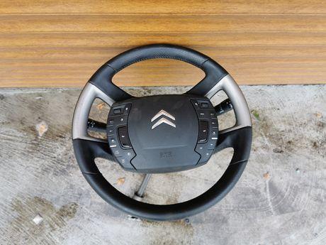 Kierownica +poduszka Citroen C5 X7 2010 rok