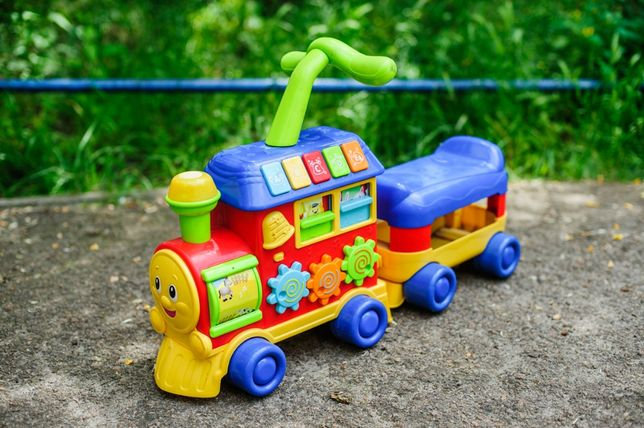 Поезд - ходунки - каталка