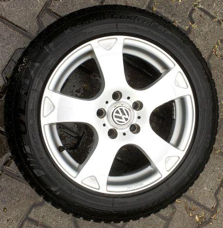/ VW / 4 Koła / Felgi Aluminiowe / Opony Z I M A / 16'' /