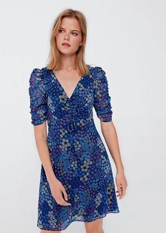 РАСПРОДАЖА платье в цветочный принт MANGO не ZARA