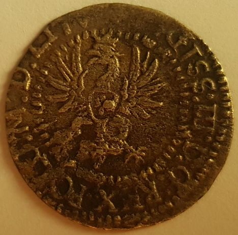 1 Grosz 1615 srebro NAPIS DVX