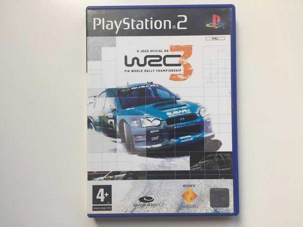 Jogo PS2 - WRC 3 - FIA World Rally Championship