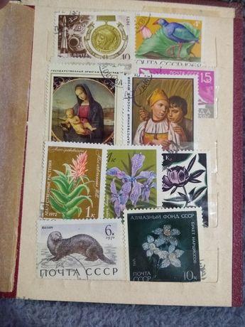 Sprzedam znaczki pocztowe.