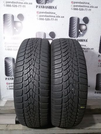 Шины ЗИМА 7 мм 195/65 R15 DUNLOP SP WinterSport 4D б/у резина 205/60