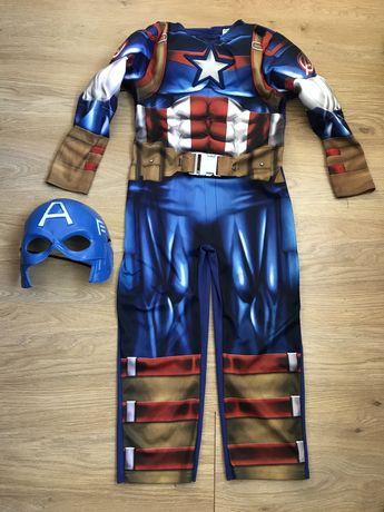 Карнавальный костюм Капитан Америка на 5-6 лет