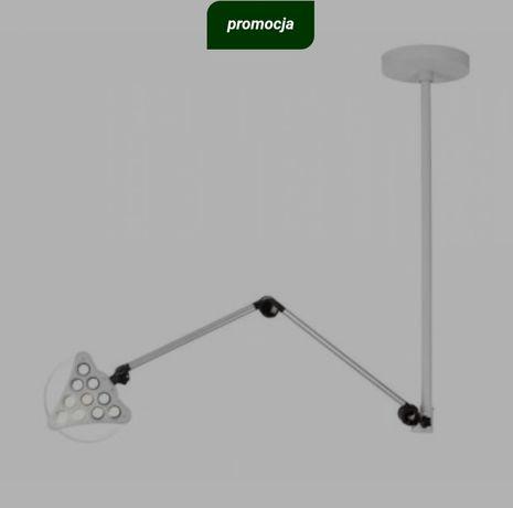 Lampa diagnostyczno-zabiegowa z mocowaniem sufitowym