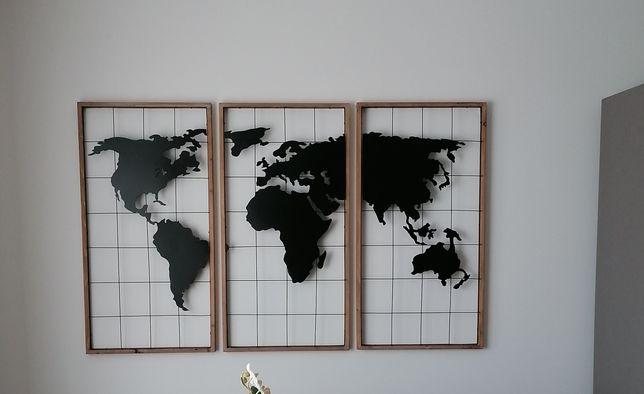 Decoração de parede - Mapa Mundo