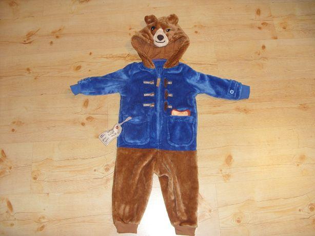 miś paddington strój kostium kombinezon r.86