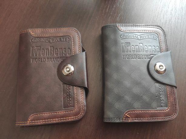 Мужской кожаный кошелек с магнитной застёжкой MenBense