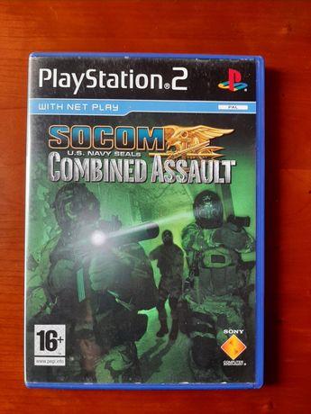 SOCOM US Navy Seals Combined Assault playstation 2