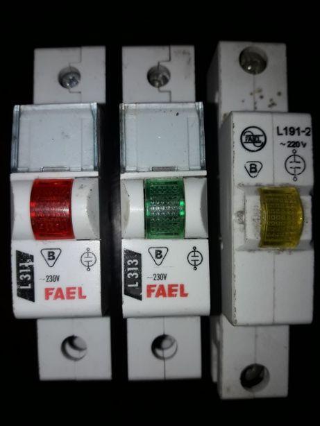Lampka sygnalizacyjna FAEL L311 L313 L191-2