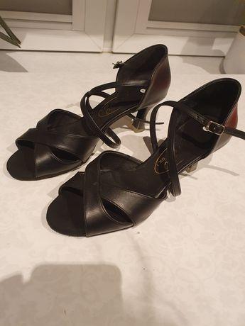 Buty skórzane do tańca
