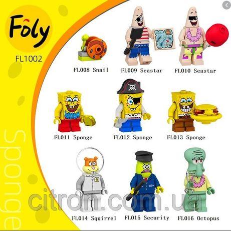 Лего Губка Боб / Lego SpongeBob