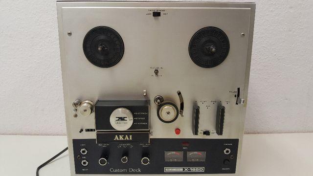 Magnetofon szpulowy Akai X-165D