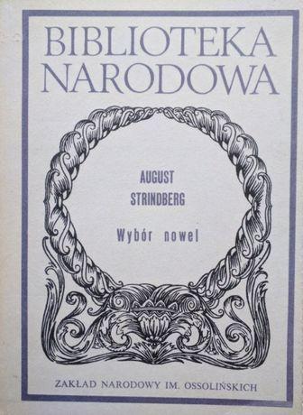 Wybór nowel - August Strindberg