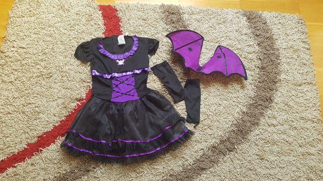 Kostium na Halloween nietoperz dla dziewczynki