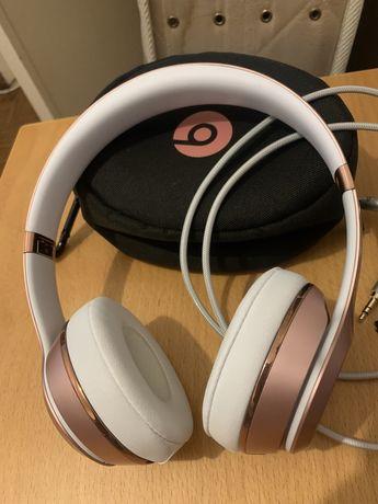 Auscultadores Bluetooth BEATS Solo 3 (On Ear - Microfone - Rosa)