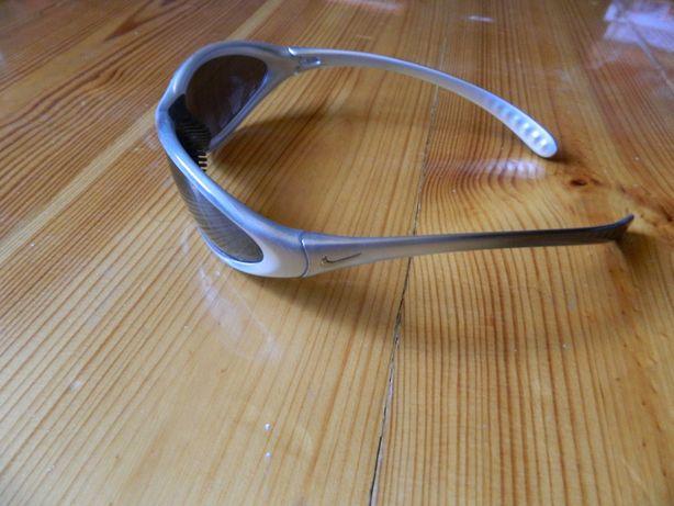 Nike okulary oryginal srebrne