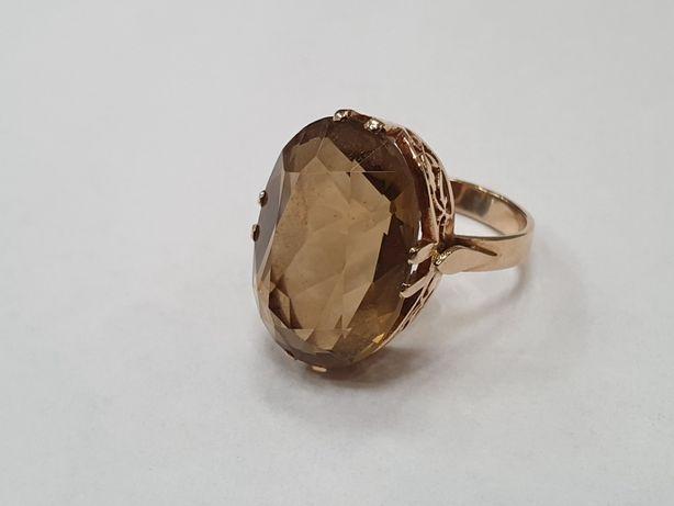 Warmet! Wyjątkowy złoty pierścionek damski/ 585/ 7.74 gram/ R15/ skle