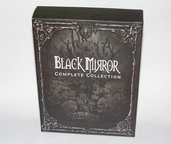 Black Mirror Complete Collection Trylogia + Soundtrack DVD BOX