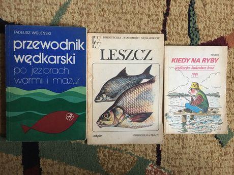 Książki o tematyce wędkarskiej