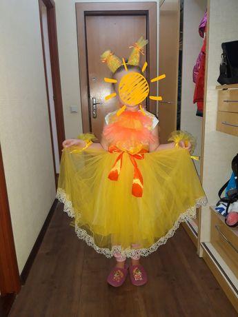белочки лисички рыбки солнышка нарядное платье фатиновая юбка